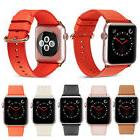 PASBUY 53B Women Genuine Leather Strap Band for Apple Watch