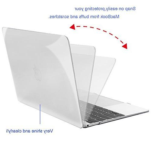 MOSISO Case Compatible 12 Inch Display Model , Crystal Clear
