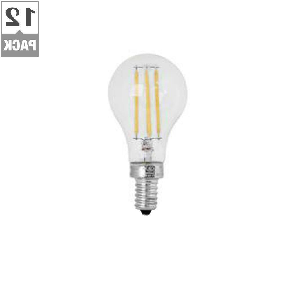a15 candelabra dimmable filament clear glass led