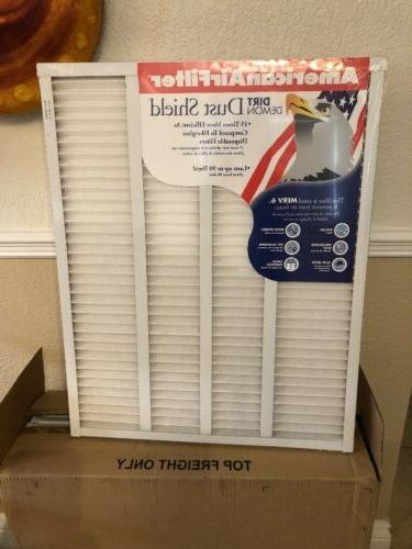 AMERICAN AIRFILTER Air Filter Replacement 24x30x1 Dust Shiel