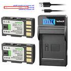 Kastar Battery LCD Charger for JVC BN-VF808 BN-VF808U &JVC G