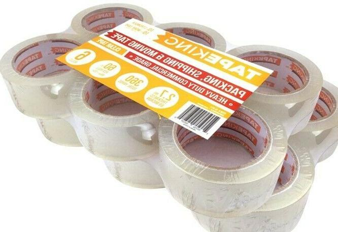 clear packing tape 12 rolls 1 88