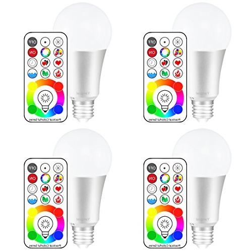 e26 dimmable changing light bulbs