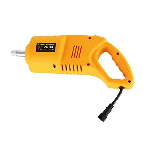 BestEquip Car Jack 2.5 Electric Scissor DC with Impact Wrench Car for and