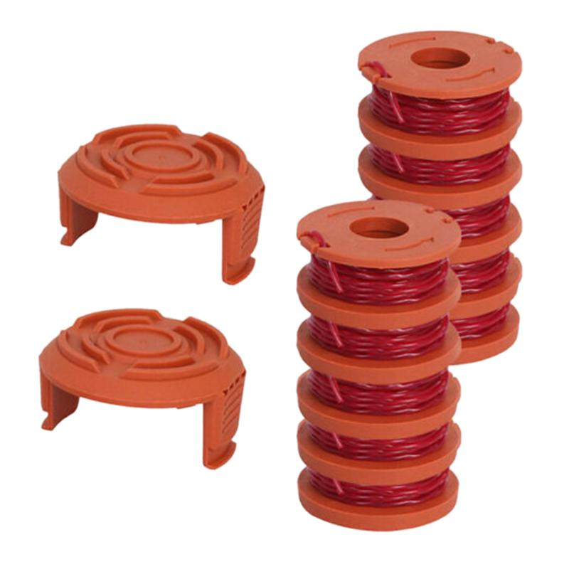 <font><b>TOP</b></font> Spool String Trimmer 10 Spool And 2 Accessories for WORX