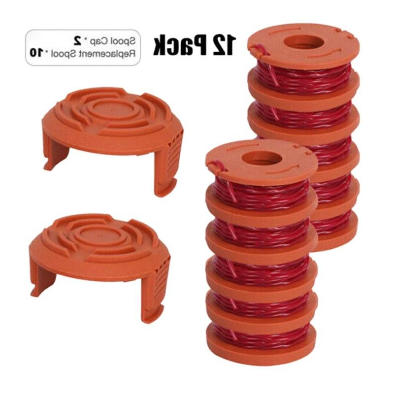 <font><b>TOP</b></font> <font><b>12</b></font> <font><b>Pack</b></font> Spool String 10 2 Cap Lawn Accessories for