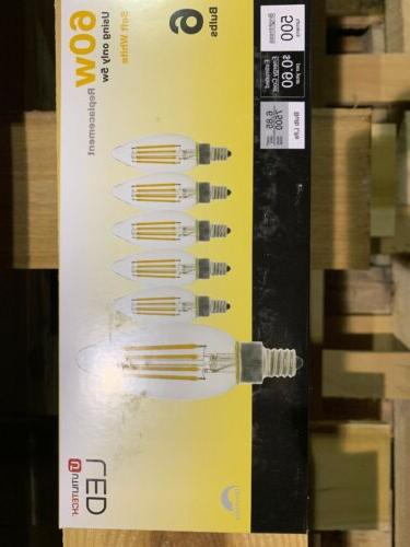 Utilitech pack 60W DIMMABLE bulbs