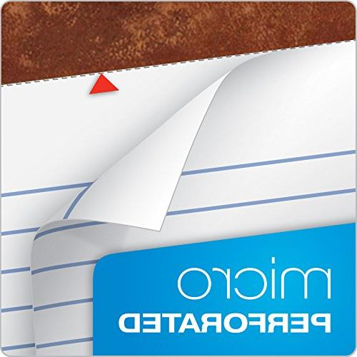 """TOPS Legal Writing 11-3/4"""", Legal Sheets, 12 Pack"""