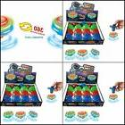 12-Pack LED Light Up Flashing UFO Spinning Tops with Gyrosco