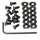 12 Pack M-LOK Screw and Nut Replacement Set for Rail Section