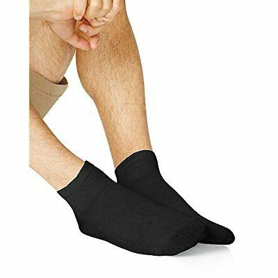 men s ankle socks 186v12 12 pack