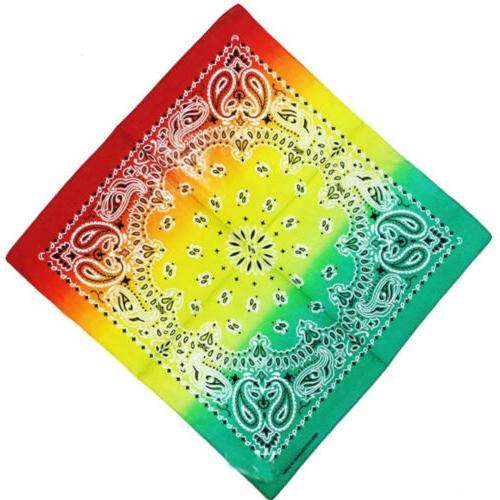 12Pack color bandana Scarf Hand