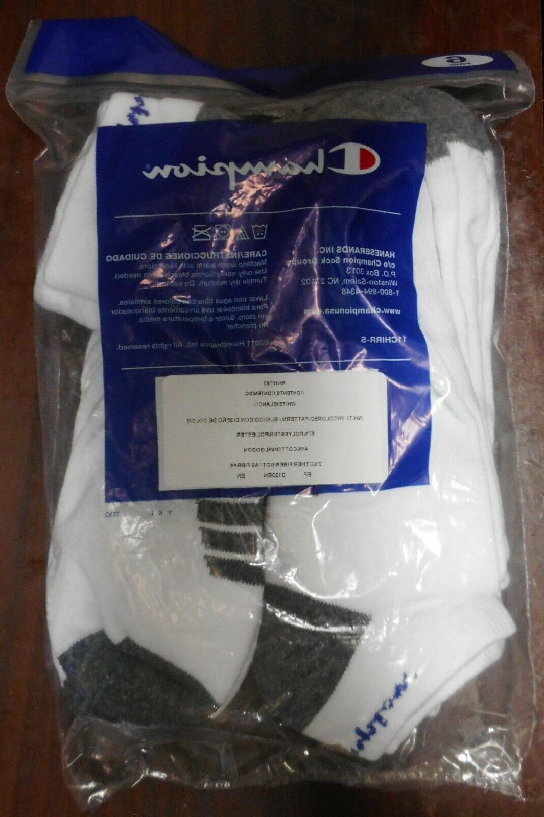 CHAMPION PAIR OF MENS CUT SOCKS SIZE 6-12****