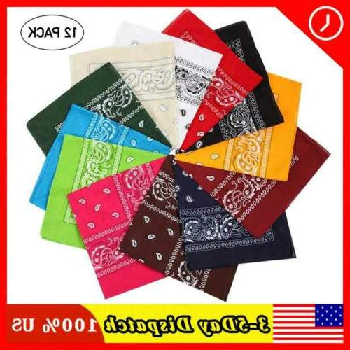 soft bandanas 100 percent quality cotton multi