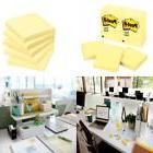 Post-it Notes, 3 in x 3 in, Canary Yellow, 12 Pads/Pack