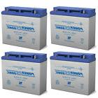 Power-Sonic 12V 18AH Battery Replaces SmithLight IN120LB LED