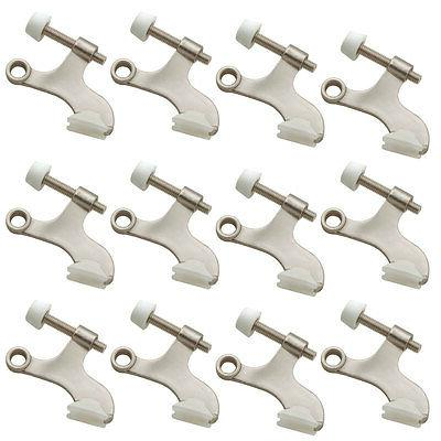 12 of Nickel Deluxe Hinge Pin Door
