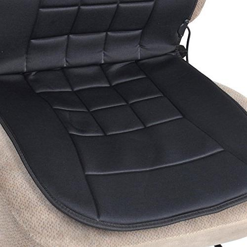 BDK SC-056 Warmer-Heated Seat Cushion Thermal Release for SUV Van Truck Office