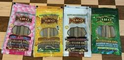 KING PALM LEAF OME VARIETY PACK NATURAL WRAPS 4 PACKS 12 ROL
