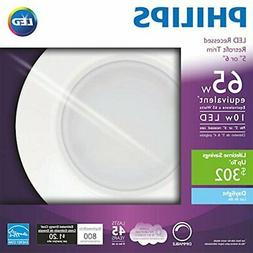 """Philips LED Retrofit Dimmable 5/6"""" Recessed Lighting Fixtu"""