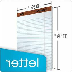 legal pad letter size perforated wide rule