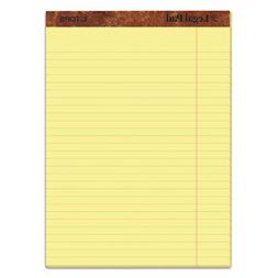 TOPS The Legal Pad Ruled Top Perforated Pad