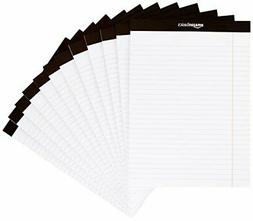 AmazonBasics Legal/Wide Ruled 8-1/2 by 11-3/4 Legal Pad - Wh