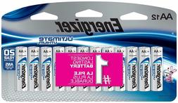 Lot of 48--4x12-pack Energizer Ultimate Lithium AA batteries