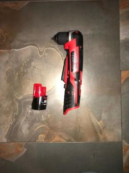"Milwaukee M12 12V Li-Ion 3/8"" Right Angle Drill Driver  2415"