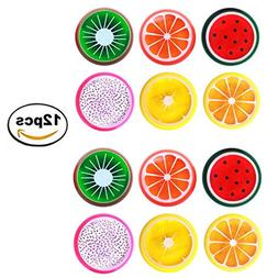 12 Pack Magic Crystal Slime Putty Toy Soft Fruit Slime for K