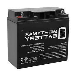 Mighty Max ML18-12 - 12V 18AH Rechargeable SLA Battery Repla