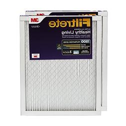 Filtrete 12x24x1, AC Furnace Air Filter, MPR 1500, Healthy L