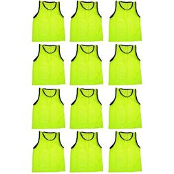 BlueDot Trading Adult Sports Pinnies Scrimmage Training Vest