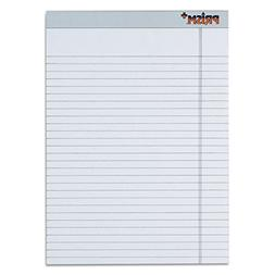 Prism Plus Colored Pads  Legal Rule  Letter  Gray  50-Sheet