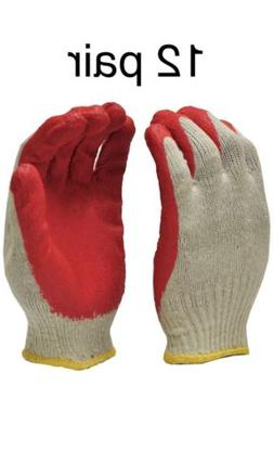 Red Work Gloves  Brand New Free Shipping By USPS First Class
