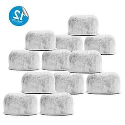 12-Pack High Quality Replacement Charcoal Water Filters for