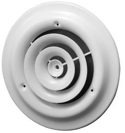 "12"" Round Ceiling Diffuser - Easy Air Flow - HVAC Duct"