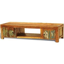 vidaXL Rustic TV Stand Accent Cabinet Entertainment Media Co