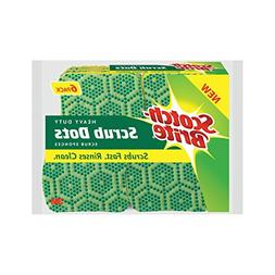 Scotch-Brite Scrub Dots Heavy Duty Scrub Sponge, 6 Count