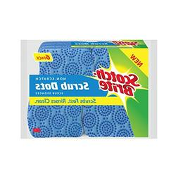 Scotch-Brite Scrub Dots Non-Scratch Scrub Sponge, 6 Count