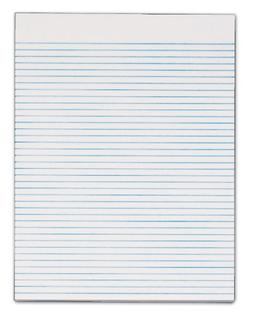 TOPS Second Nature 100% Recycled Legal Pad, 8-1/2 x 11 Inche