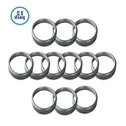 Silver Rust Resistant Screw Stainless Steel Rings / Bands fo