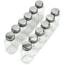 12 Pack of Spice Shakers, Salt & Pepper, Spices, & Seasoning