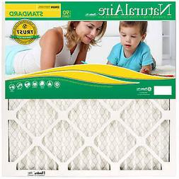 Standard Pleated Furnace  Filter, 14x30x1-In. - Pack of 12