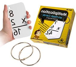 star educationtm multiplication flash cards 0 12 rings