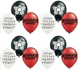 """STRANGER THINGS 12"""" LATEX BALLOONS - FREE DELIVERY, SAME DAY"""