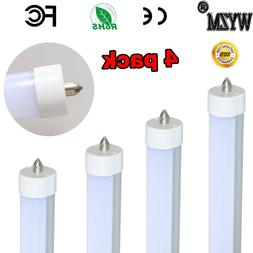 4Pack 40W T8 Led Tube Light Replace 8 foot Sylvania Cool Whi