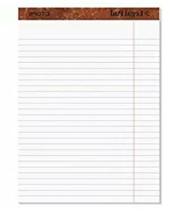 "TOPS The Legal Pad Writing Pads, 8-1/2"" x 11-3/4"", Legal Rul"
